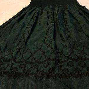 Lapis skirt midi dress